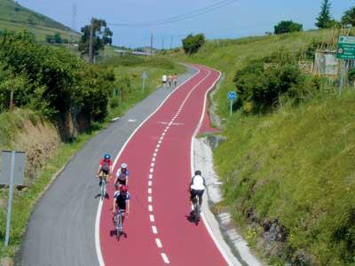 Red de Caminos Ciclables en Bizkaia Gallarta1