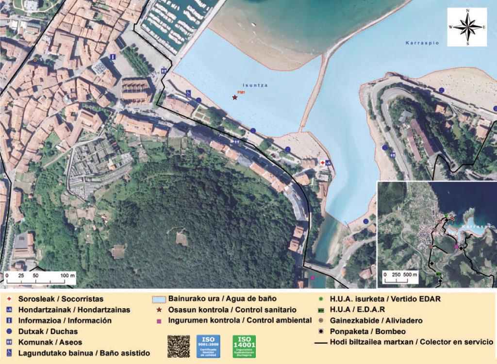 Baño En Ducha Asistido:BizkaiaEus: Departamento de Sostenibilidad y Medio Natural – Playas