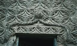 Etxe gotikoaren 1. ikuspegia