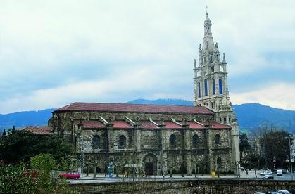 Begoñako Basilikaren 1. ikuspegia