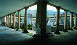 View 1 of the Abadiño Cemetery