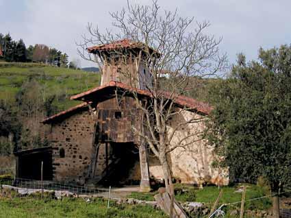 Illoroko Santa Marina baseliza (Barinaga)ren 1. ikuspegia