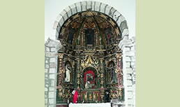 San Migel de Linares elizaren 2. ikuspegia