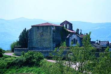 View 1 of the Iglesia vieja de Biañez