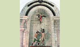 Aldeacuevako San Bartolome elizaren 5. ikuspegia