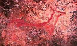 View 1 of the Figuras pintadas de la cueva de Arenaza