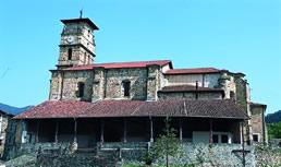 San Pedro de Romaña elizaren 1. ikuspegia