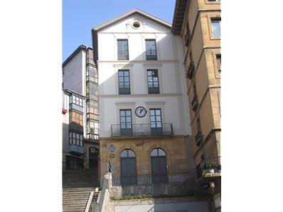 Edificio de la estación de Lezama. Bilbao.
