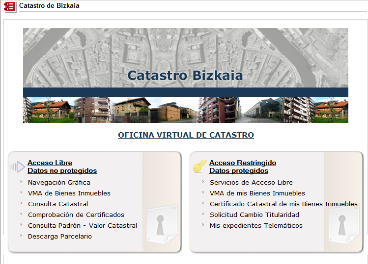 Bizkaia eus temas for Oficina virtual hacienda