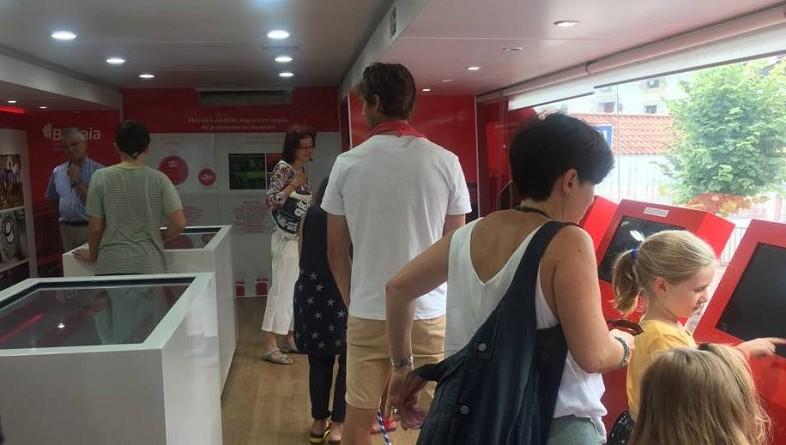 20.000 personas visitan el autobús Bizkaia Goazen durante su recorrido de cinco meses por  65 municipios del Territorio