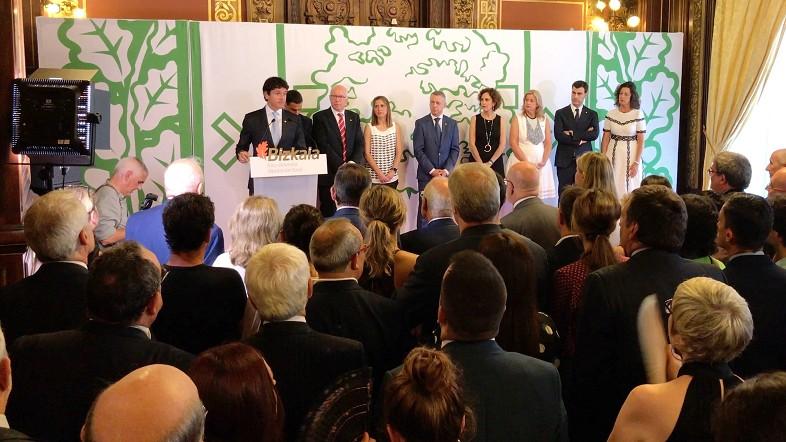 Unai Rementeria anima a empresas y sindicatos a que impulsen una EPSV de empleo para todos los trabajadores de Bizkaia