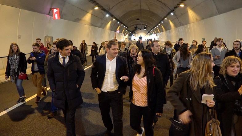 Los túneles de Urdinbide entrarán en servicio el 14 de abril