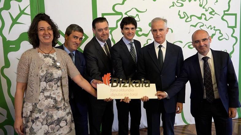 Rementeria refuerza la cooperación con Guggenheim, Bellas Artes, Palacio Euskalduna y BEC como mejor inversión para Bizkaia