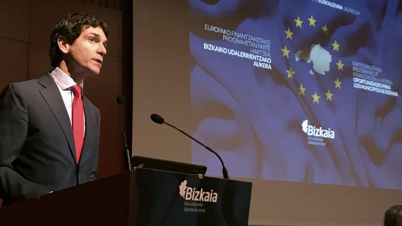 Bizkaiak Europako Orientazioko Bulegoa ireki du udalei Batasuneko finantzaketara iristeko erraztasunak eskaintzeko