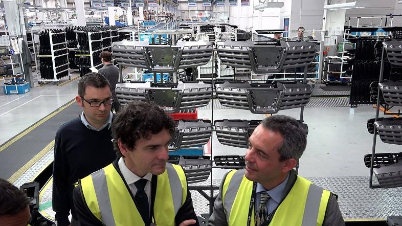 Rementeria ofrece Bizkaia a las empresas británicas de automoción como territorio para su internacionalización