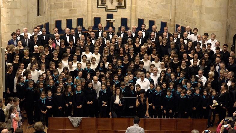 """El concierto """"Música para la paz"""""""
