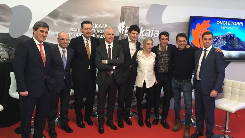 Unai Rementeria muestra en Madrid el gran 2018 de Bizkaia