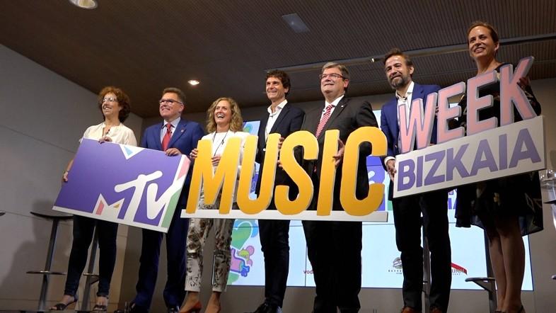 La música y la cultura pop invadirán el territorio en la MTV Music Week Bizkaia