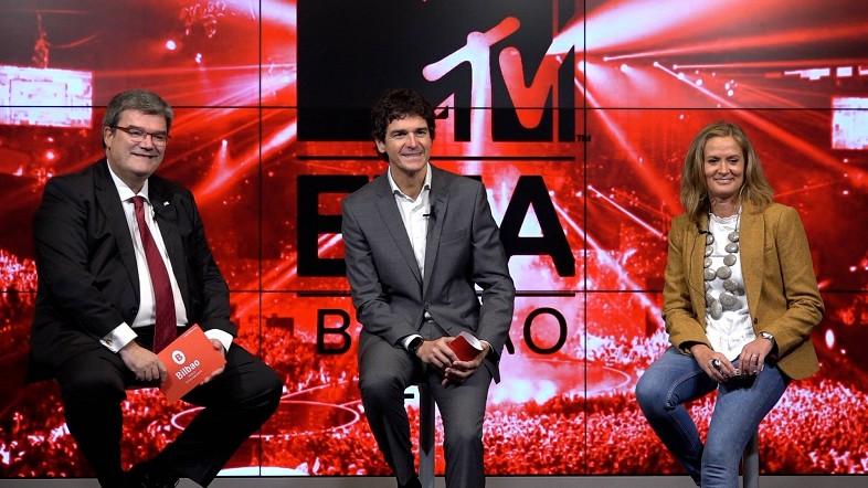 """Rementeria, Aburto y Del Campo: """"Pondremos todo de nuestra parte para conseguir que los MTV EMA 2018 sean inolvidables para todos"""""""