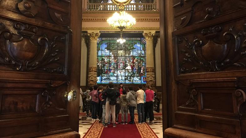 El Palacio de la Diputación Foral de Bizkaia recibe anualmente la visita de unas 6.000 personas