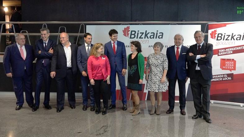 Rementeria reflexiona junto al sector del comercio de Bizkaia
