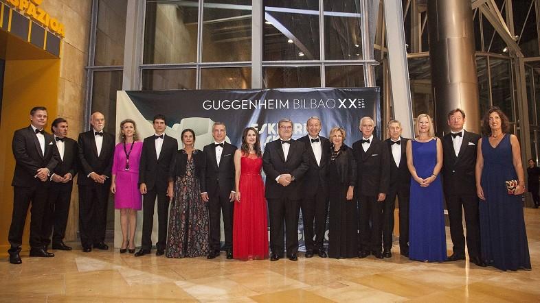 Guggenheim Bilbao Museoaren urteurreneko ekitaldia