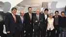 Foto de familia rueda de prensa en Madrid