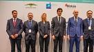 Imanol Pradales, Jorge Ramírez, Ann Branch, Unai Rementeria, Grzegorz Galusek y Oscar Ugarte
