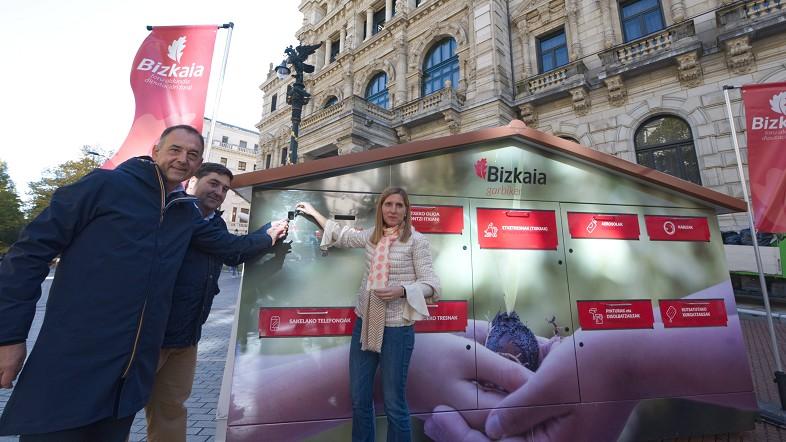 Los garbigunes móviles llegarán al centro de las localidades de Bizkaia para fomentar el reciclaje a partir del 12 de noviembre