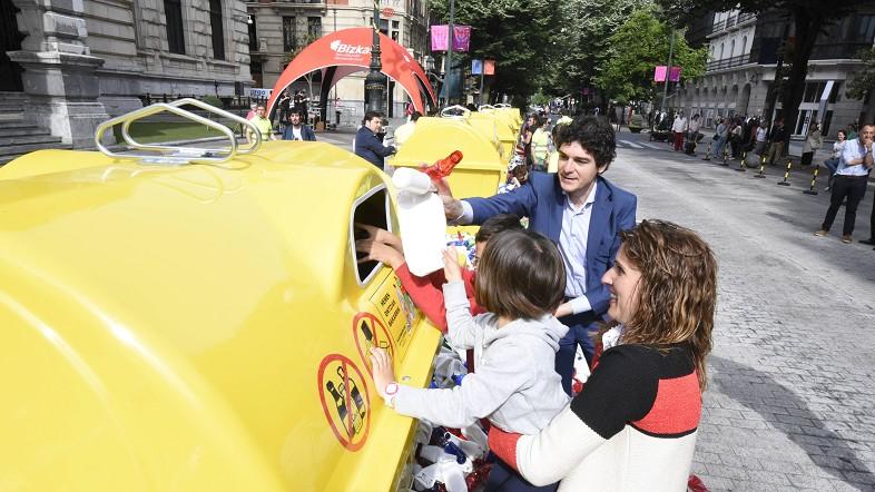 Diputación inicia una campaña para subir la tasa de reciclaje hasta el 65% marcado en los objetivos de economía circular de la UE