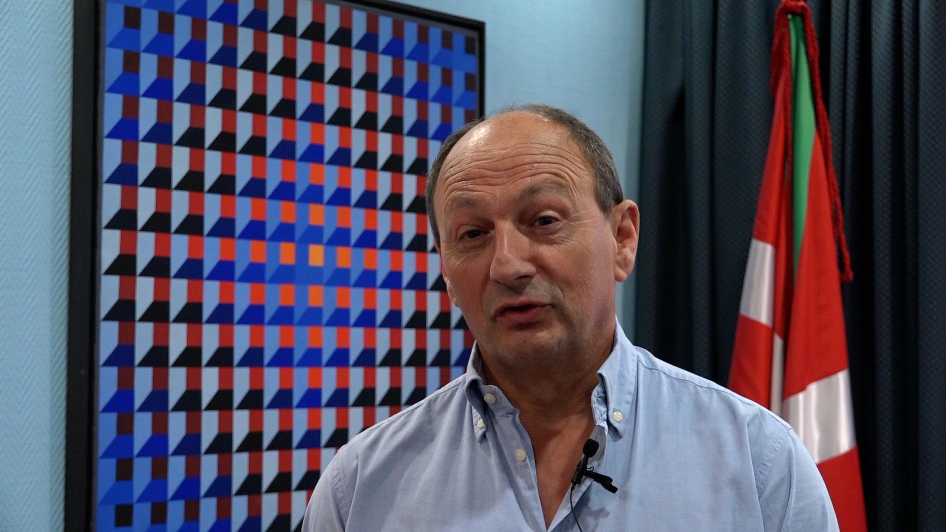 José Antonio Zabala Presidente asociación  Forestalistas de Bizkaia