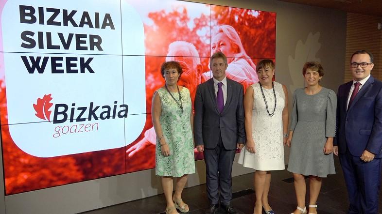 """Bizkaia reúne a los principales agentes internacionales del envejecimiento activo en la """"Bizkaia Silver Week"""""""