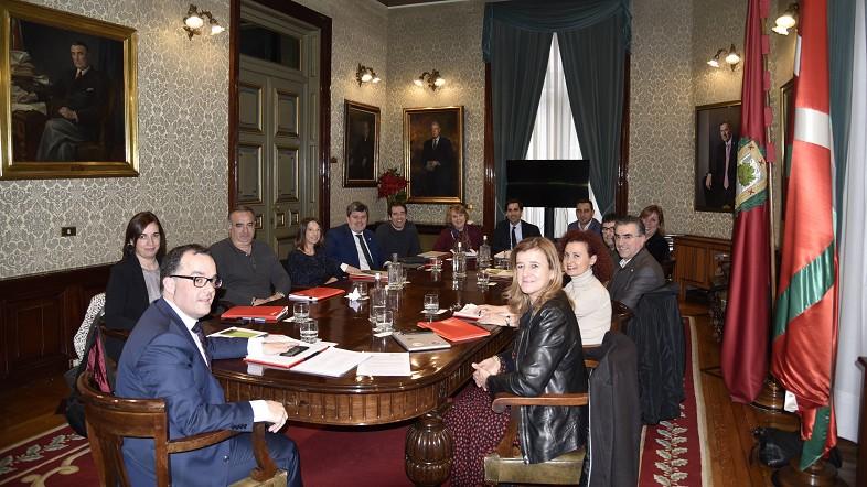 Diputación Foral de Bizkaia y EUDEL avanzan en mecanismos de coordinación y colaboración en materia de Servicios Sociales
