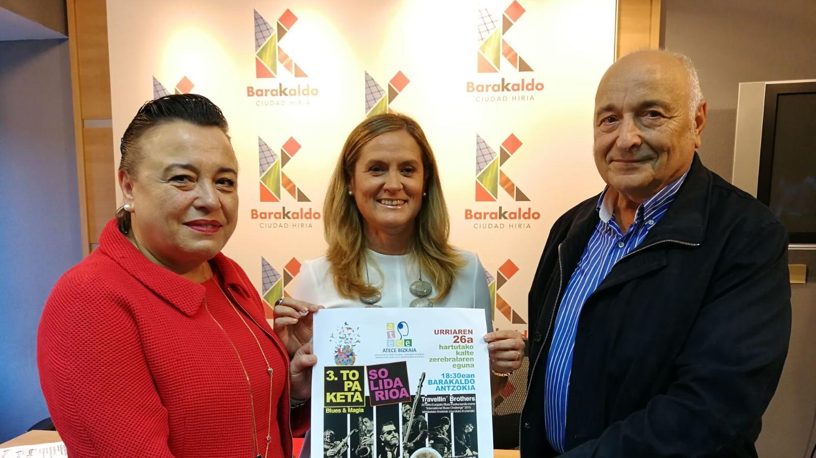 Isabel Sánchez Robles, Amaia del Campo y José Luis Esteban