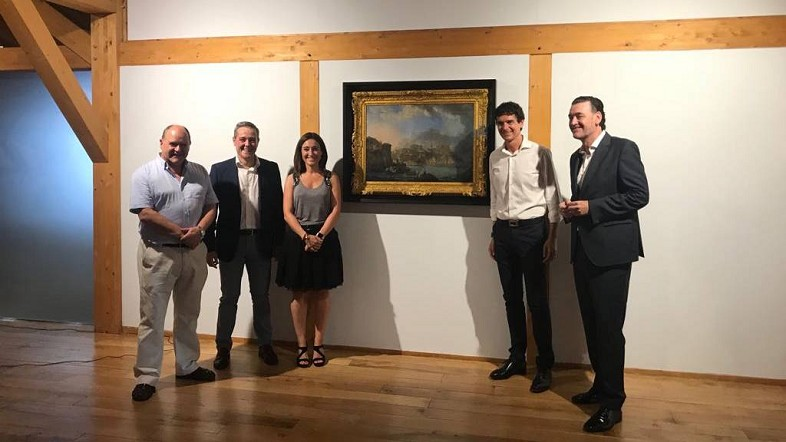 """Arrantzaleen Museoa de Bermeo inaugura la exposición """"Paret Bermeon"""" en colaboración con el Museo de Bellas Artes de Bilbao"""