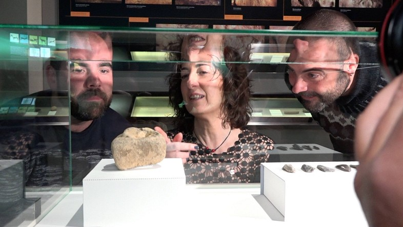 Jon Arriola, Lorea Bilbao y Diego Garate