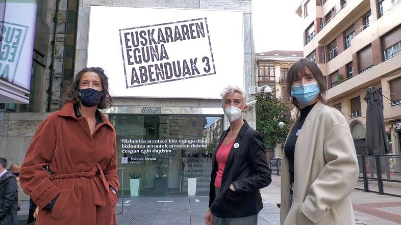 La Diputación Foral de Bizkaia ensalza la importancia de la creación en euskera al celebrar Euskararen Eguna