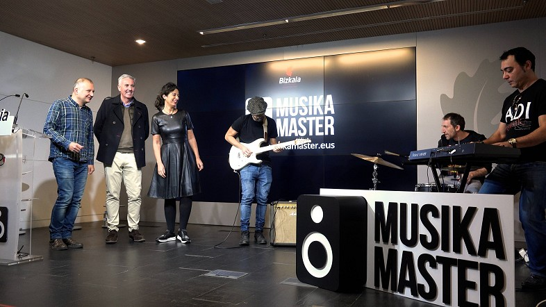 La Diputación apuesta por Musika Master, un trampolín para la música amateur de Bizkaia