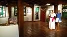 Mujer y pelota vasca exposición en Museo Simón Bolívar