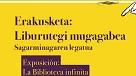 Liburutegi Mugagabea. Sagarminagaren legatua, 1929-2019