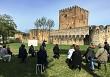 Homenaje a Delmas en Castillo de Muñatones