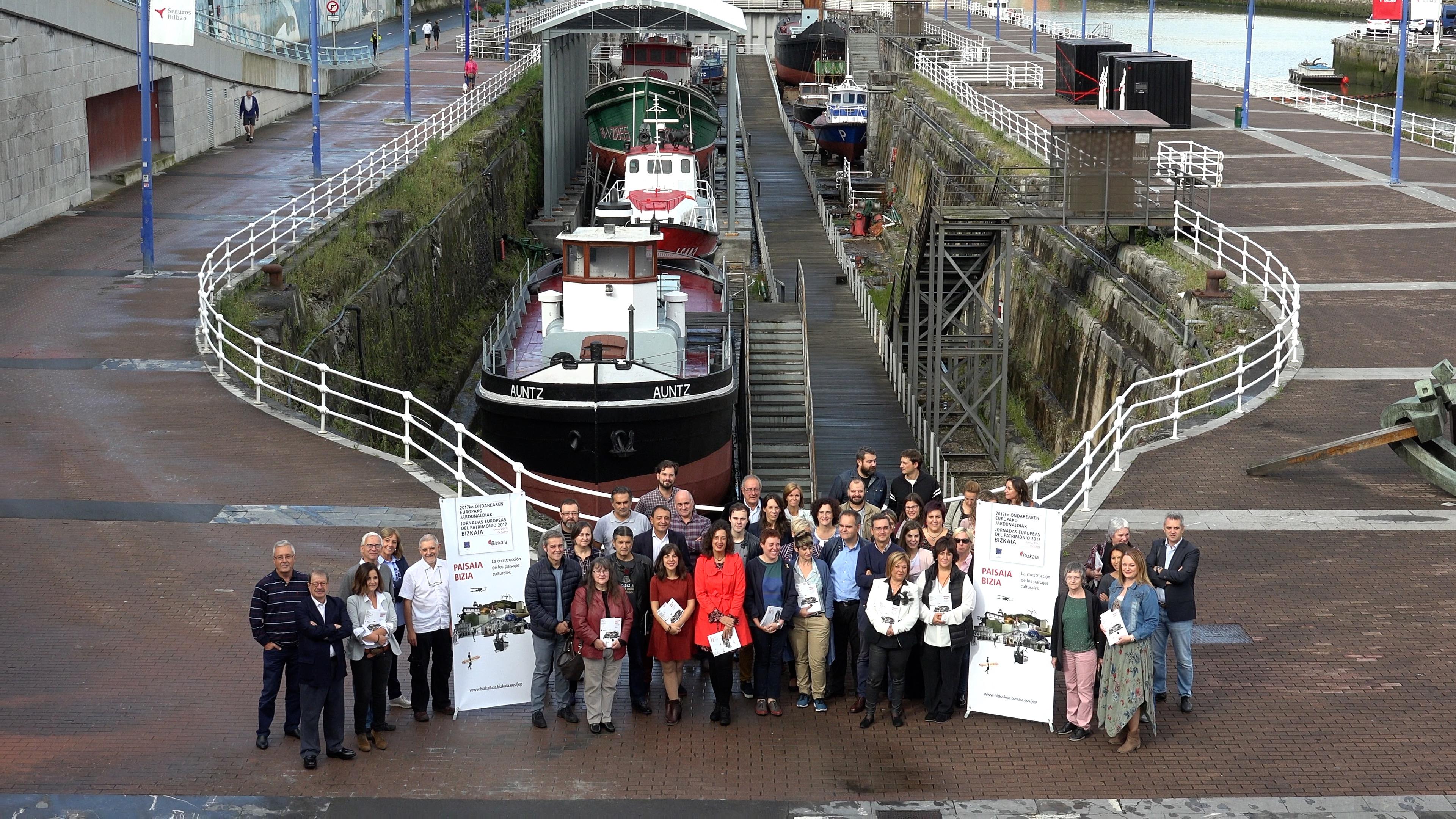 Imágenes de la presentación de Jornadas Europeas de Patrimonio 2017