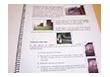 Cuaderno de notas con imágenes.