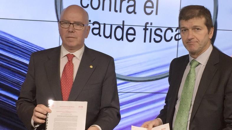 José María Iruarrizaga y Aitor Soloeta