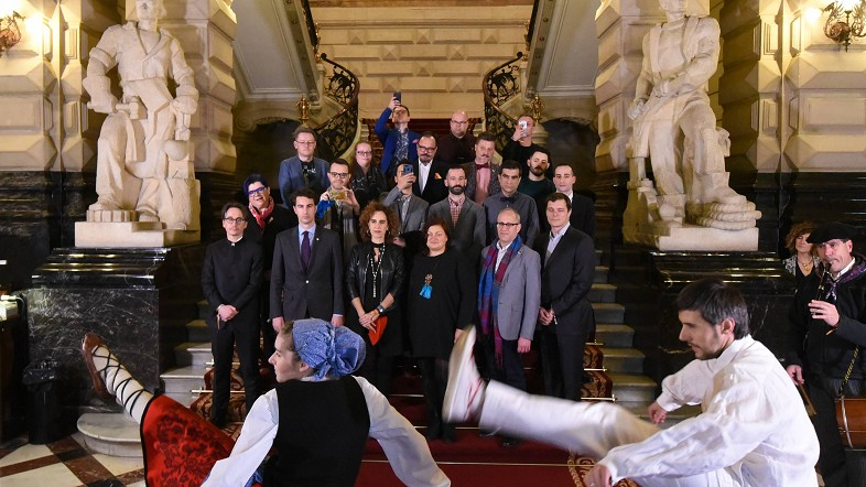 La asociación Europea de Organizaciones del Orgullo en la diputación foral