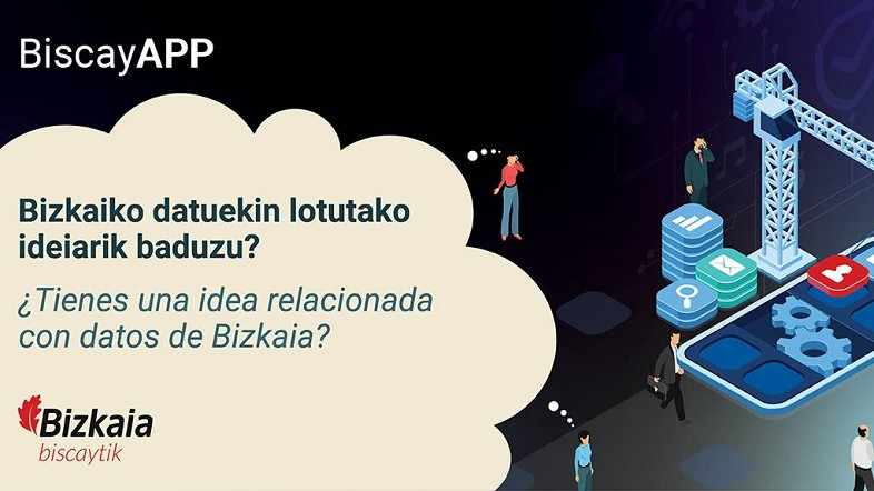 BiscayApp lehiaketaren hirugarren edizioa azken txanpan sartu da Open datari buruzko webinar batekin