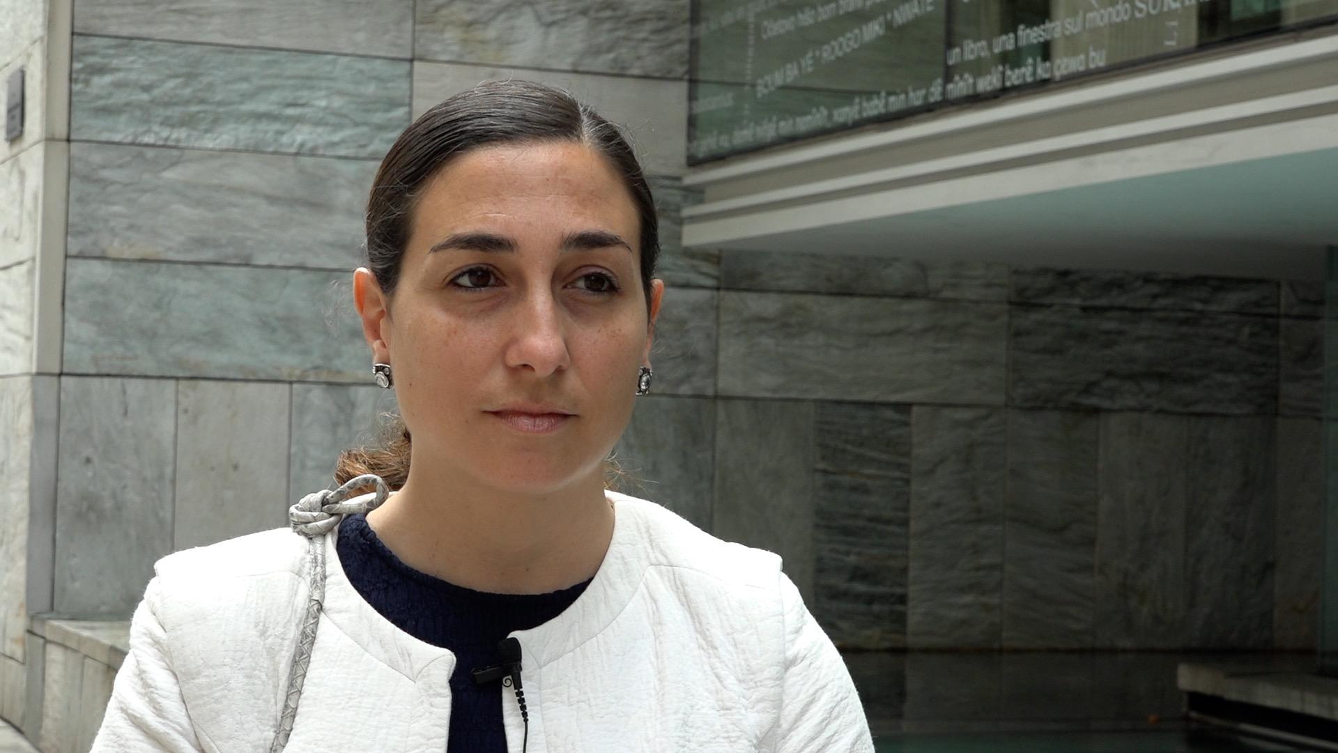 Valeria Garcia gerente FEVAS