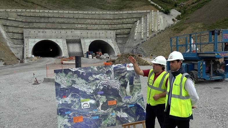 El túnel de Uretamendi estará en servicio a finales de año