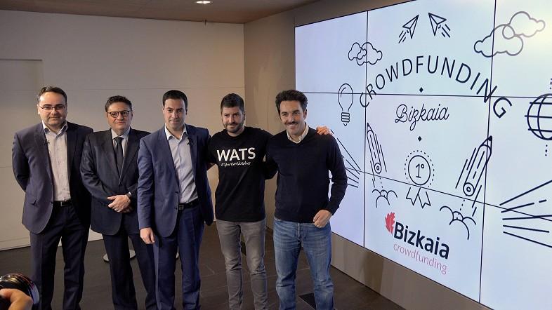 Crowdfunding Bizkaia start-upak partaidetzaren bidez finantzatzeko lehenengo plataforma publikoa izango da