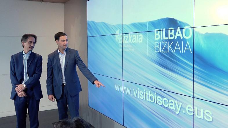 Bizkaiak turismoa sustatzeko webgune berri bat estreinatu du bere urterik nazioartekoenean